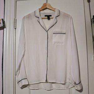 F21 pajama dress shirt